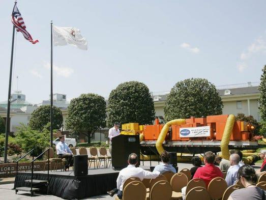 100m Downtown Nashville Flood Protection Plan Unveiled