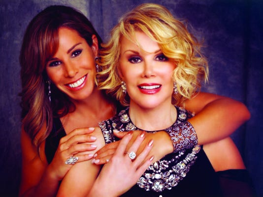 Melissa Rivers remembers mom in memoir