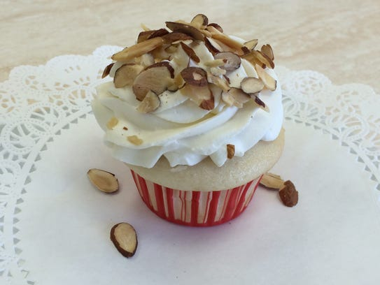 A cupcake from Tasty Treats & East on W. Wisconsin
