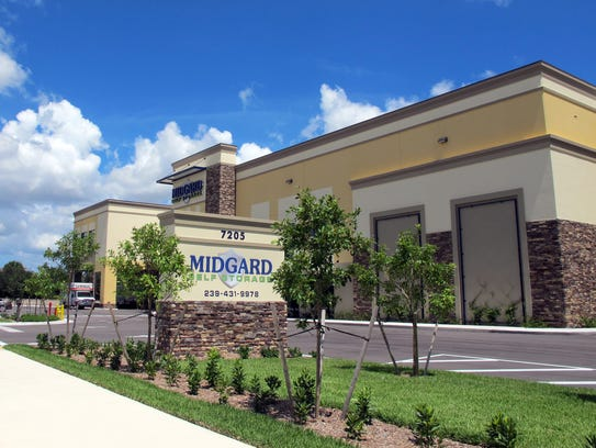 Midgard Self Storage opened in May as the first business