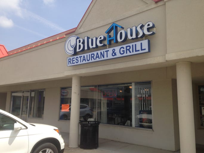 Blue House Restaurant & Grill opened in March at Mar-Jean Village on Earl Avenue.