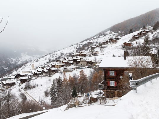 Albinen Switzerland Village Willing To Pay 25 000 Per Person