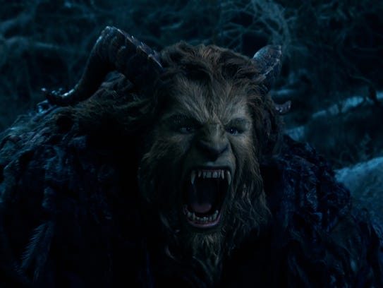 The Beast (Dan Stevens) gets to sing one of the new