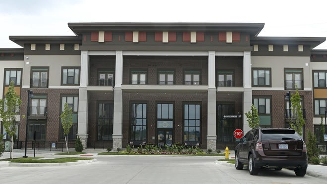 The Boulevard apartments at Oakley Station in Oakley