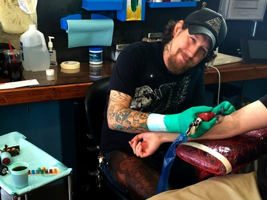 Jason Anthony of Golden Rule Tattoo