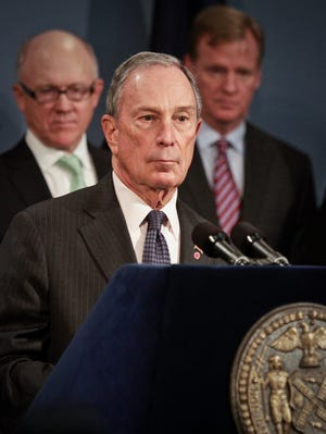 Former New York City mayor Michael Bloomberg is one of the nation's wealthiest people.