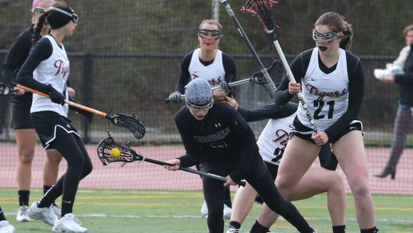 White Plains' Abigail Leone puts pressure on Scarsdale's