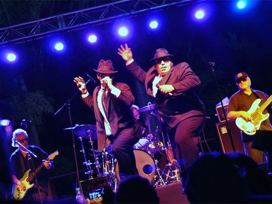 The Blues Brothers Soul Band will pay Tribute to Jake and Elwood Oct. 28 at the Rock'n Riverwalk Fundraising Jam at Terra Fermata in Stuart.