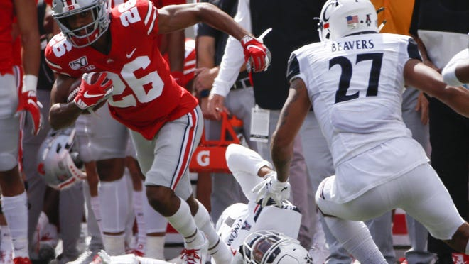 Jaelen Gill's hopes of moving up on the Ohio State depth chart were undermined when the majority of spring practices were canceled.