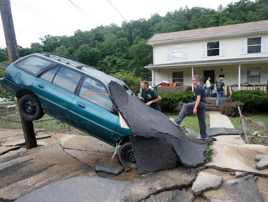 In West Virginia A Flood That Will Go Down In History