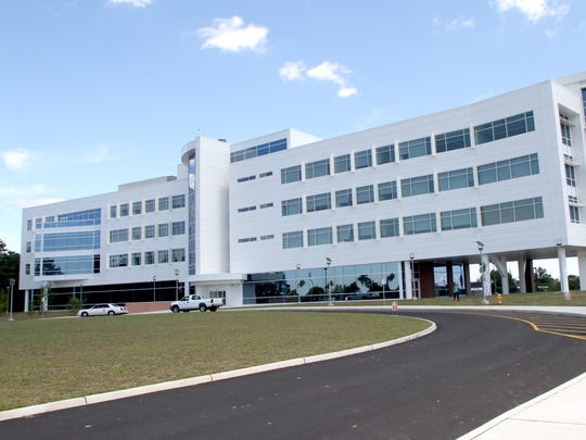 The Gateway building on the Toms River campus of Ocean County College.