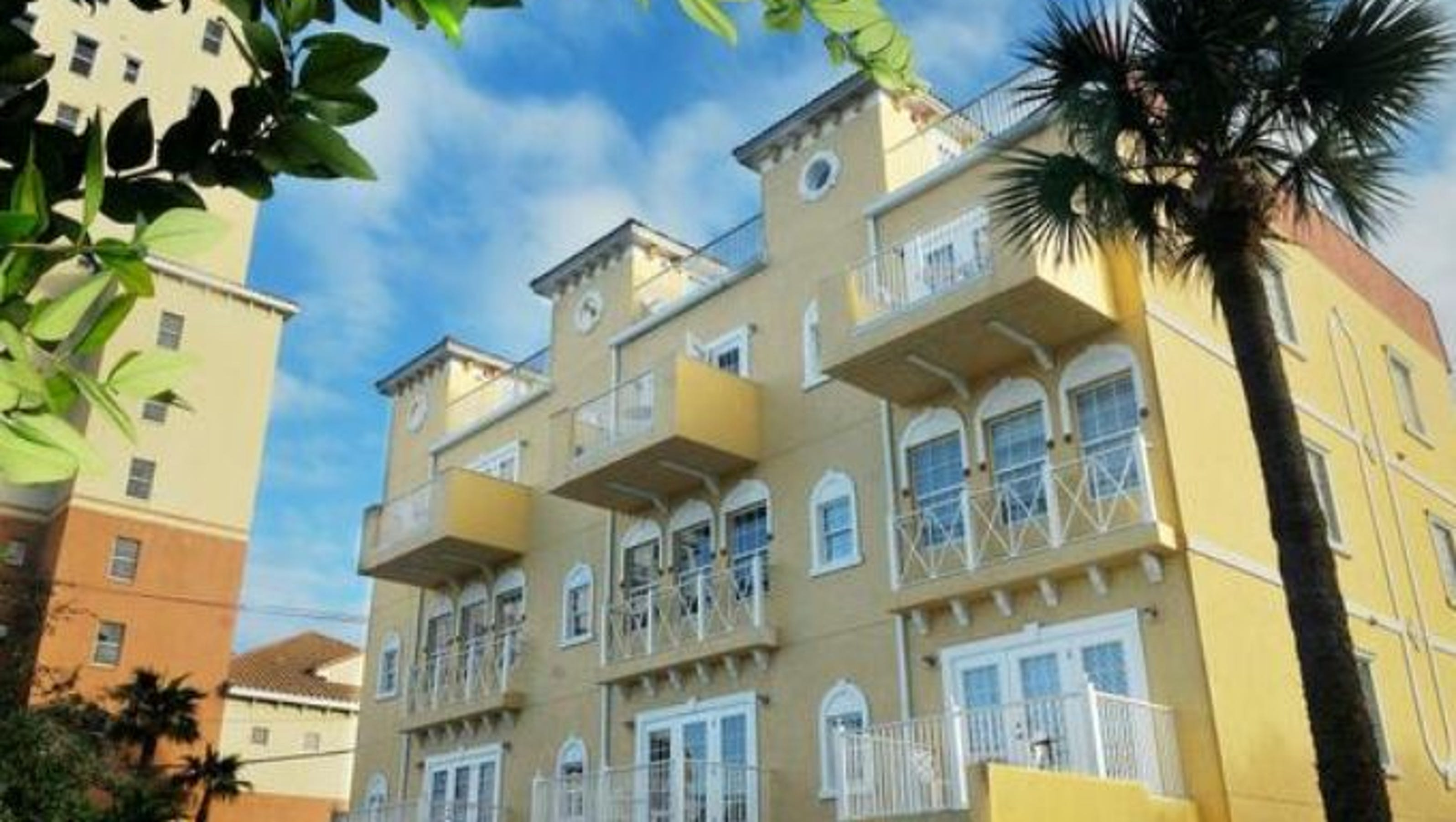 Townhomes bring european flair to cocoa village for European townhouse