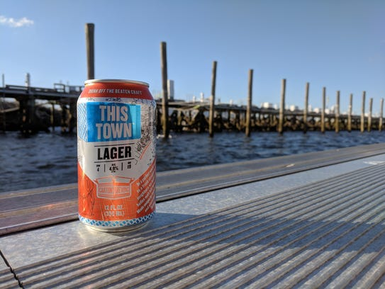 This Town, a new lager from Carton Brewing, is only