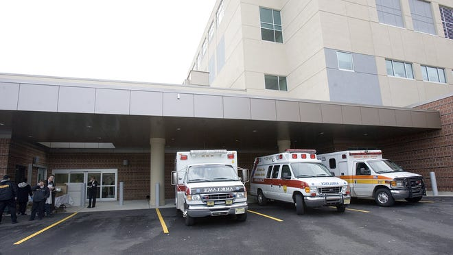 Community Medical Center in Toms River is one of several hospitals that have recently diverted patients from their emergency rooms because a flu outbreak has jammed the facility.