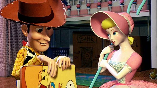 Woody and Bo Peep. Credit: Disney/Pixara