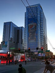 Downtown Phoenix and Verizon Super Bowl Central Tuesday,