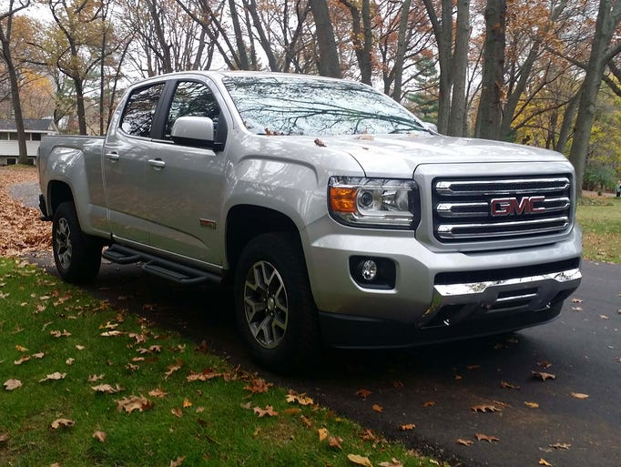 The 2015 GMC Canyon is an all-new midsize truck that