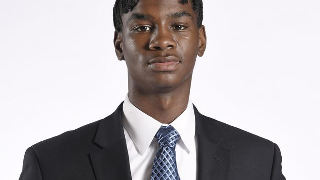 Tyon Grant-Foster, a Kansas City, Kan., native, is entering his first year with Kansas basketball after two seasons at Indian Hills (Iowa) Community College.