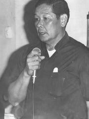 The late Msgr. Jose Leon Guerrero, in a photo that published in the Pacific Daily News in April 1975.