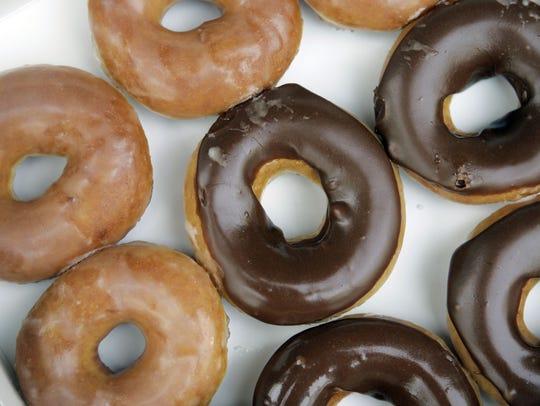 Krispy Kreme   Everyone gets one free glazed doughnut.