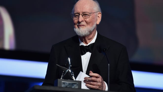 HOLLYWOOD, CA - JUNE 09:  Honoree John Williams accepts the Life Achievement Award onstage during American Film Institute's 44th Life Achievement Award Gala Tribute show to John Williams at Dolby Theatre on June 9, 2016 in Hollywood, California. 26148_005  (Photo by Alberto E. Rodriguez/Getty Images for Turner)