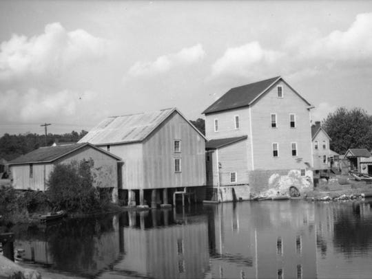 Millsboro had many mills and the water was used to