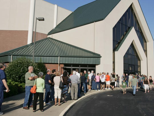 Cornerstone Church is one of Nashville's largest churches.