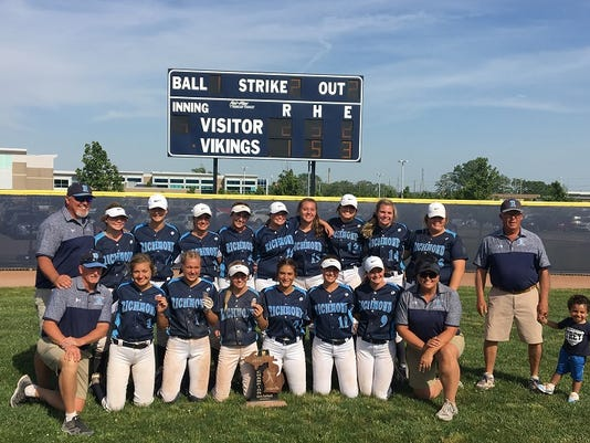 Richmond claims D2 softball regional