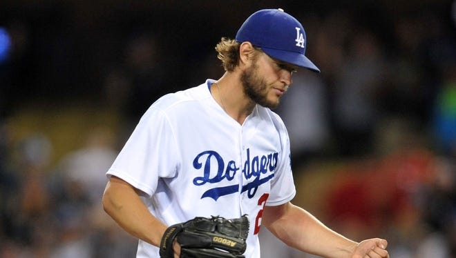 Clayton Kershaw, the reigning NL MVP and Cy Young Award winner, is 6-6 but has a 2.85 ERA.