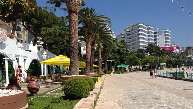 While the Albanian seaside scenery is quite extraordinary, above all the area is cheap -- easily one-tenth the cost of its French and Italian counterparts and half the cost of the Croatian coast.
