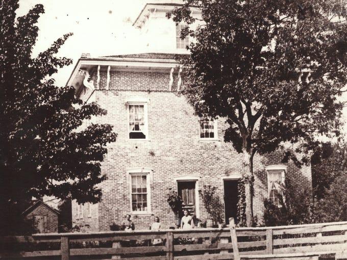 An historic photo of 6557 Challis Road.