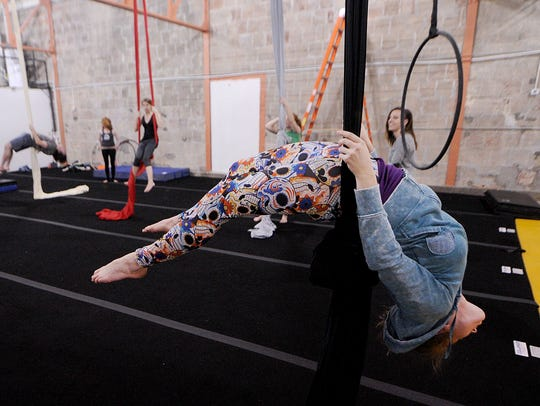 At Cirque Indy, instructors will cover the basics of