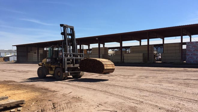 Montana Gov. Steve Bullock announced a rangeland and forest health initiative Tuesday in his capacity as chairman of the Western Governor's Association at Pyramid Mountain Lumber, a sawmill in Seeley Lake.