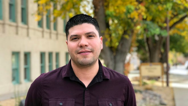 Steven Sandoval, who has two degrees from New Mexico State University, returned in fall 2016 as an assistant professor in the Klipsch School of Electrical and Computer Engineering, thanks to a grant from the Minority Doctoral Assistance Loan for Service Program.
