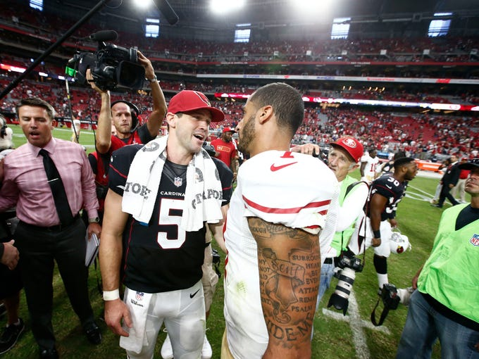 USA TODAY Sports' Nate Davis looks back at the winners and losers from Week 3 of the NFL season. The Cardinals and 49ers made separate lists after Arizona's 23-14 win on Sunday. What's right with Arizona? What's wrong with San Francisco? We take a look: