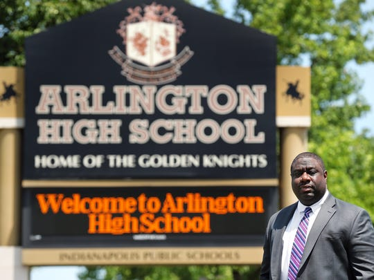 Marcus Robinson is chancellor and CEO of Tindley Accelerated Schools, which operates Arlington High School.