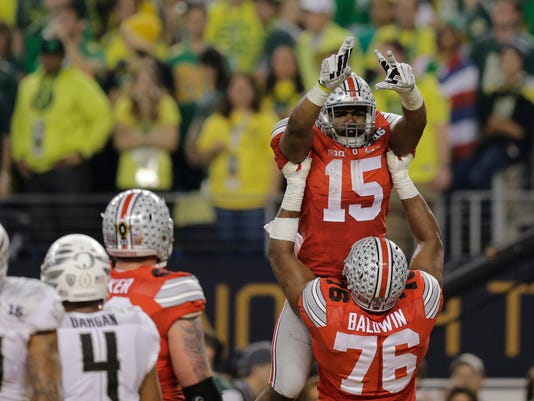 Playoff Championship Ohio St Oregon Football