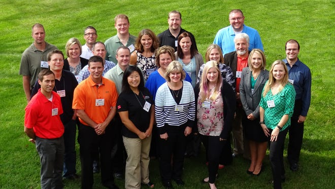 Graduates of the 2015-2016 Leadership Fond du Lac program were celebrated at the Leadership Fond du Lac Completion Award Ceremony.  The program provides information and experience to individuals who are willing to commit to serving their community, helping to develop Fond du Lac area leaders and move Fond du Lac forward.