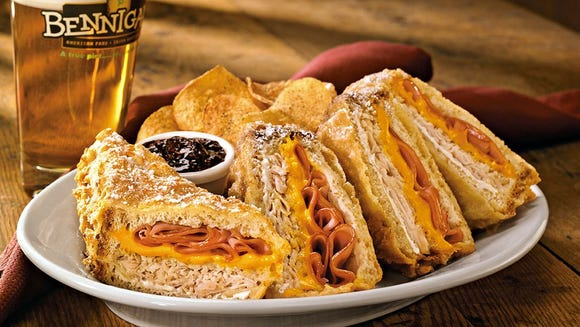 The Monte Cristo is one of the signature dishes at
