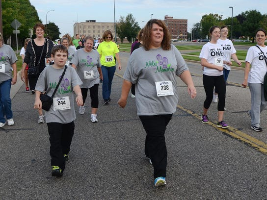 The third annual Miles for Memories, a local event