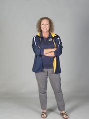 Katharine Edwards is the coach of the Gulf Breeze High School swim team.