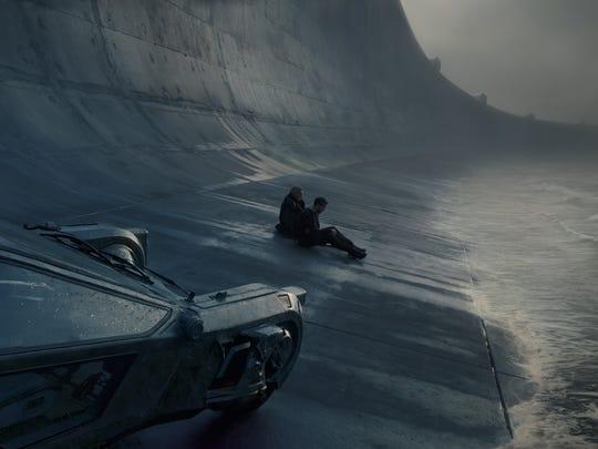 The view of the Sepulveda Boulevard seawall in 'Blade Runner 2049.'