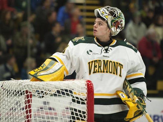 Hockey East: UVM Goalie Munson Decides To Transfer