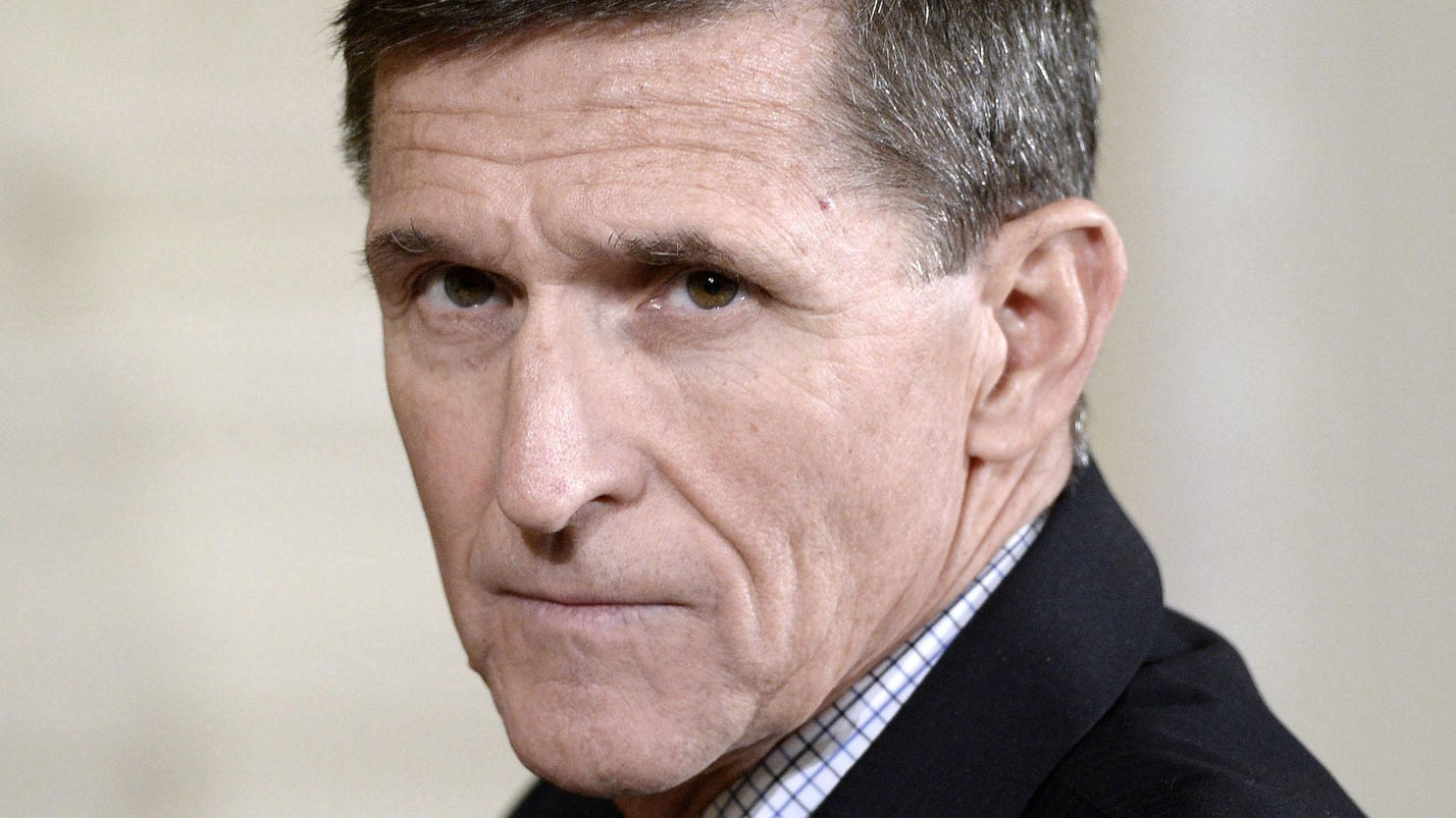 Dems: Flynn left Mideast trip off security clearance