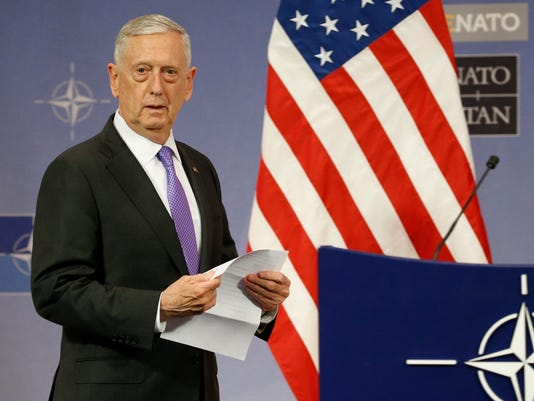 Secretary of Defense Jim Mattis
