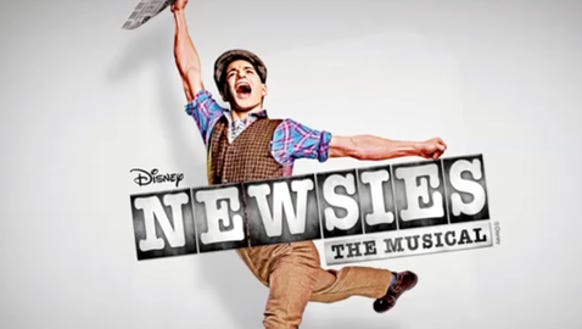 theater NewsiesOnBroadway