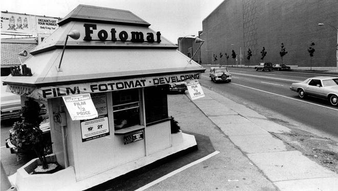 A Fotomat location on West Ridge Road opposite Kodak Park is seen in this 1978 file photo.