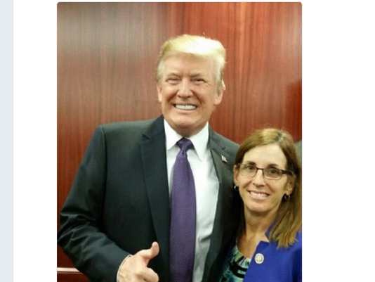 Is McSally chasing Donald Trump's endorsement?