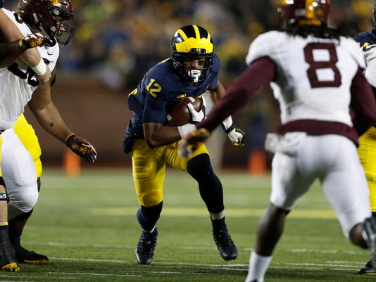 NCAA Football: Minnesota at Michigan