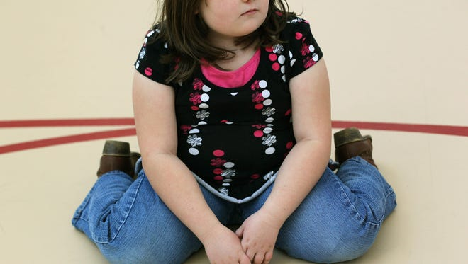 Kids who are overweight in kindergarten are more likely to be obese by eighth grade.